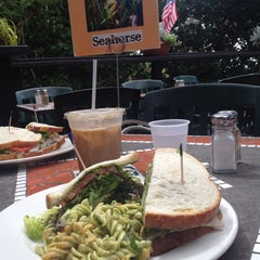 Photo taken at Stratford Court Cafe by Cathy V. on 8/10/2014