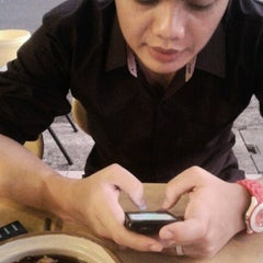 Photo taken at Warung Najua by Nuratikah O. on 1/25/2013