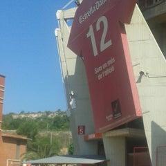 Photo taken at Gimnàstic de Tarragona by X@ e. on 6/15/2013