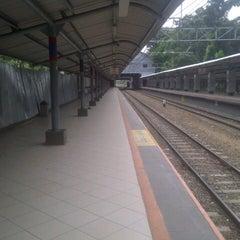 Photo taken at Stasiun Sudirman by Nisa L. on 4/10/2013