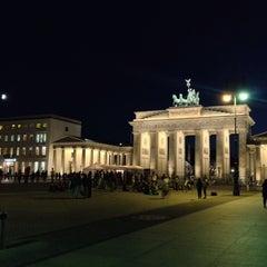 Photo taken at Pariser Platz by riccardante on 8/14/2013