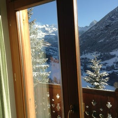 Photo taken at Alpe Fleurie Albergo ** by Olia A. on 2/26/2013