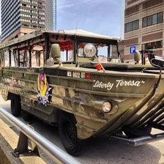 Photo taken at Boston Duck Tour (Prudential Center) by iGoByDoc on 8/19/2013
