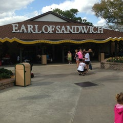 Photo taken at Earl of Sandwich by Larry K. on 2/19/2013