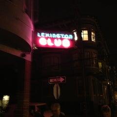 Photo taken at Lexington Club by Don E. on 3/3/2013