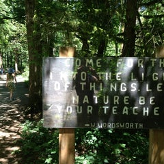 Photo taken at Wallace Falls Trail by Aaron W. on 7/14/2013