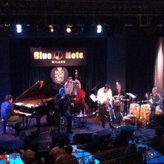 Photo taken at Blue Note Milano by Andrea P. on 10/14/2012