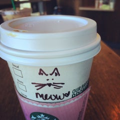Photo taken at Starbucks by Julia P. on 10/17/2014