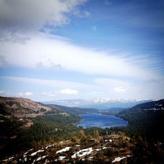 Photo taken at Donner Pass Summit by Alaine D. on 4/7/2013