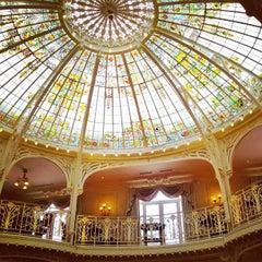 Photo taken at Hôtel Hermitage Monte-Carlo by Khalid A. on 3/27/2013