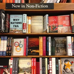 Photo taken at Harvard Book Store by paddy M. on 1/12/2013