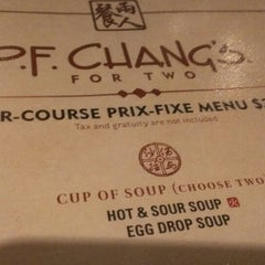Photo taken at P.F. Chang's by Sagar on 7/27/2013