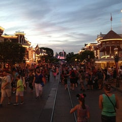 Photo taken at Main Street, U.S.A. by James F. on 6/12/2013