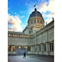 Photo taken at Royal Exhibition Building by Matteo C. on 5/7/2013