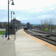 Photo taken at Amtrak - Connellsville Station (COV) by Tim B. on 4/26/2014