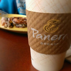 Photo taken at Panera Bread by Gina S. on 4/20/2013