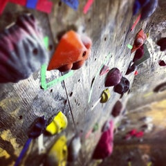 Photo taken at Red Barn Climbing Gym by Christopher T. on 9/23/2012