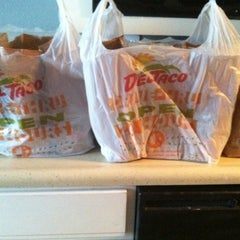 Photo taken at Del Taco by Danielle M. on 10/23/2012