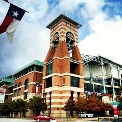 Photo taken at Minute Maid Park by Michael C. on 6/30/2013