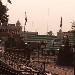 Photo taken at Wagah Border - India Pakistan Border by Apeksha P. on 7/14/2013