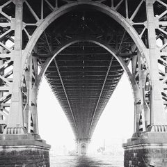 Photo taken at Williamsburg Bridge by sam m. on 7/4/2013