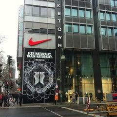 Photo taken at Niketown Berlin by Mariah on 3/9/2013