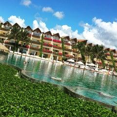 Photo taken at Grand Velas Riviera Maya by Mario G. on 8/9/2015