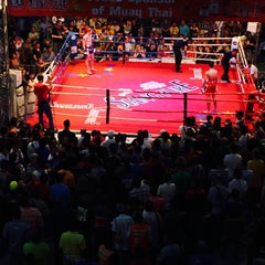 Photo taken at MBK Fight Night by Jorge on 3/25/2015