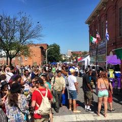 Photo taken at Hollins Market by Stacie V. on 5/24/2015