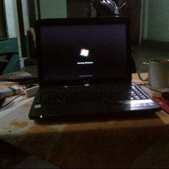 Photo taken at Teras [depan kamar] by Aan P. on 10/10/2012