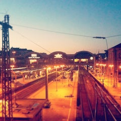 Photo taken at Mainz Hauptbahnhof by Sebastien R. on 9/30/2012