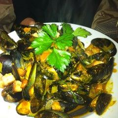 Photo taken at Sascha Rotisserie & Bar by Aaron D. on 10/25/2012