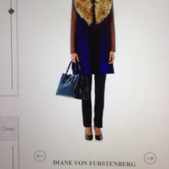 Photo taken at DVF Showroom by Athar A. on 11/1/2013