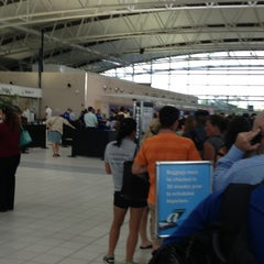 Photo taken at TSA Terminal E Security by Heidi L. on 7/11/2013