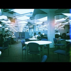 Photo taken at Robinson Library by Lo S. on 12/6/2012