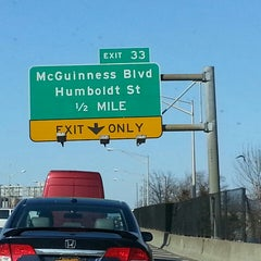 Photo taken at Brooklyn/Queens Expressway (BQE) by Misia on 4/5/2013