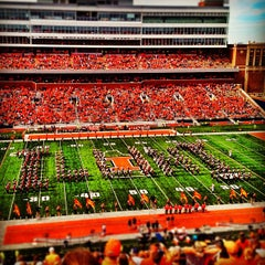 Photo taken at Memorial Stadium by Samir N. on 9/16/2012