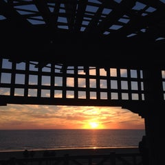 Photo taken at Pergola @ Palisades Park by Tom H. on 12/13/2013