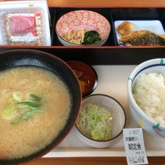 Photo taken at とくとく 阿賀野川SA店 by hommac on 9/15/2014