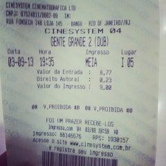Photo taken at Cinesystem by Leonardo R. on 9/4/2013