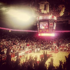Photo taken at Bud Walton Arena by Josh C. on 1/17/2013
