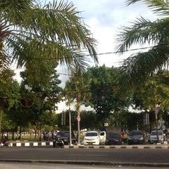 Photo taken at Masjid Jami' Al-Baitul Amien Jember by Ardi W. on 12/28/2013