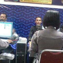 Photo taken at POLRESTA Denpasar by Ardi W. on 11/27/2014