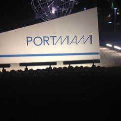 Photo taken at Port of Miami by will_1k on 11/8/2012