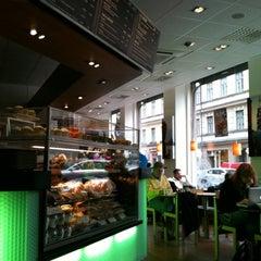 Photo taken at Espresso House by Natasha A. on 10/11/2012