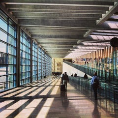 Photo taken at Terminal 1 by Andy Z. on 4/30/2013