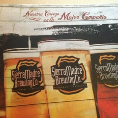 Photo taken at Sierra Madre Brewing Co. by Jesus A. on 6/11/2013