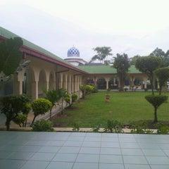Photo taken at Masjid Al-Hasanah by Fauzan f. on 12/18/2012