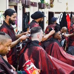 Photo taken at Denny Moe's Superstar Barbershop by Denny M. on 1/7/2016