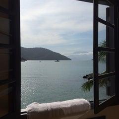 Photo taken at Che Lagarto Hostel Ilha Grande by Susita on 8/10/2014